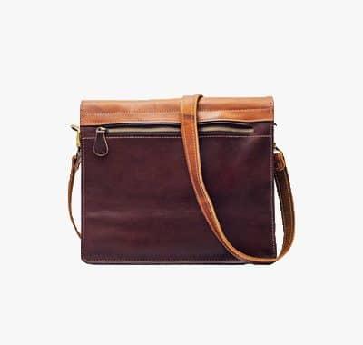 کیف دانشجویی چرم ویک