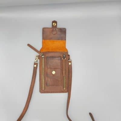 کیف دوشی چرم ساندرا