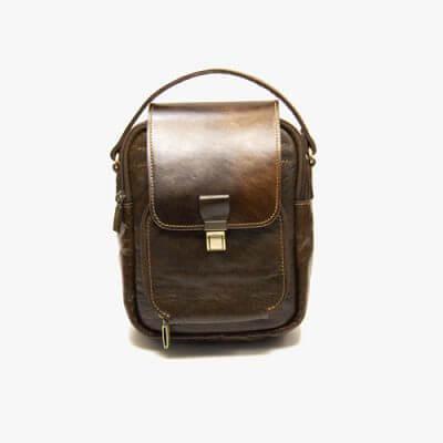 کیف دوشی چرم جانسون