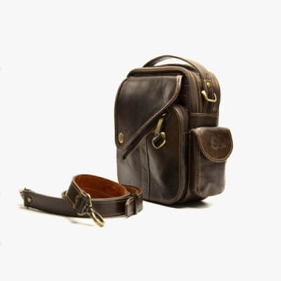کیف دوشی چرم میلانو