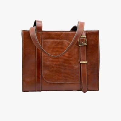 کیف دوشی چرم لرنز